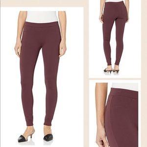 Blank NYC Skinny Leggings Pants in Dark wine color